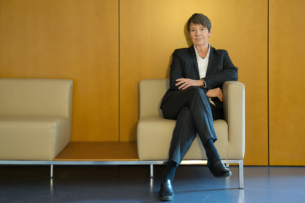 German environment minister Dr. Barbara Hendricks at her office in Berlin.