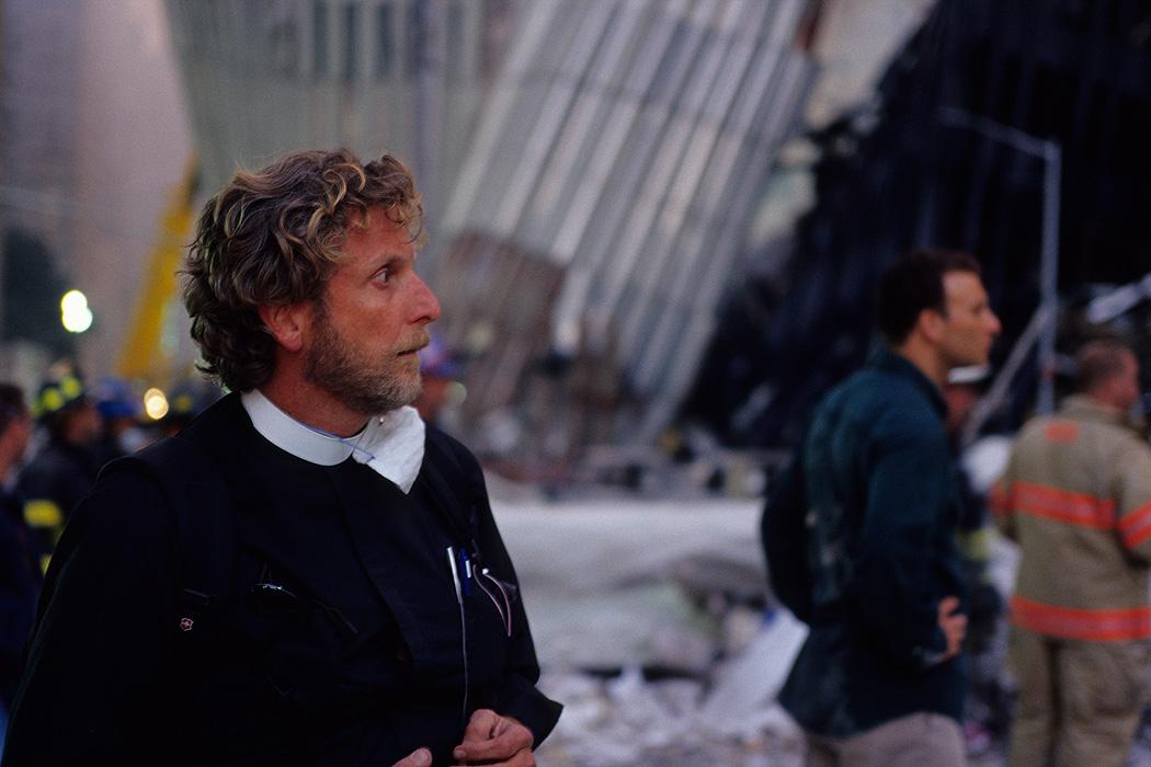 A priest at Ground Zero