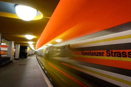 Metro station Konstanzer Straße