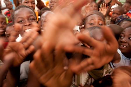 Orphans in N'Djamena, Chad